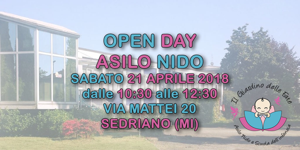 Open Day Asilo Nido 2018